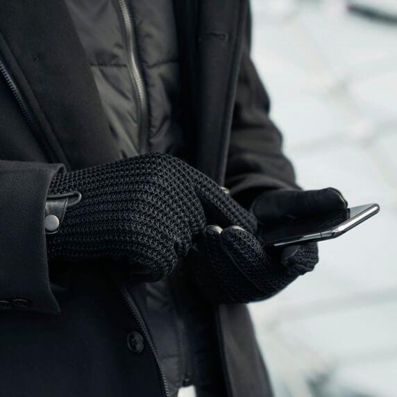 Rękawiczki męskie na zimę